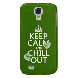 Keep Calm and Chill Out (sloths) Case-Mate Barely There Samsung Galaxy S4 Case