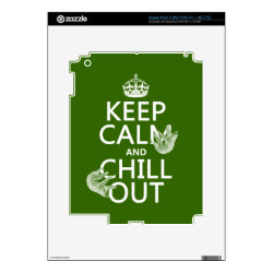 Keep Calm and Chill Out (sloths) Amazon Kindle DX Skin