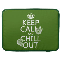 Keep Calm and Chill Out (sloths) Macbook Pro 15