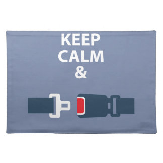 Keep Calm and Click It Placemat