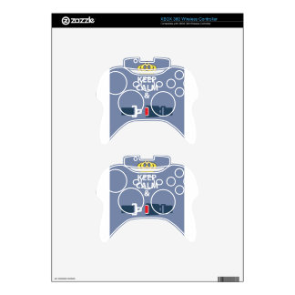 Keep Calm and Click It Xbox 360 Controller Skin