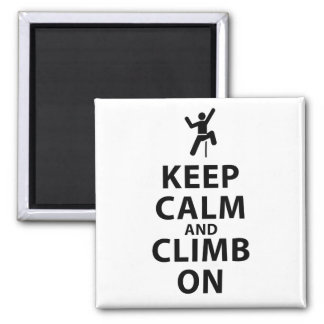 Keep Calm and Climb On Magnet