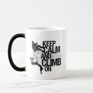 Keep Calm and Climb On Mountain Climbing Mug