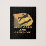 Keep Calm And Climb On Puzzles