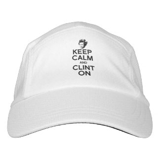 KEEP CALM AND CLINT ON -- HEADSWEATS HAT