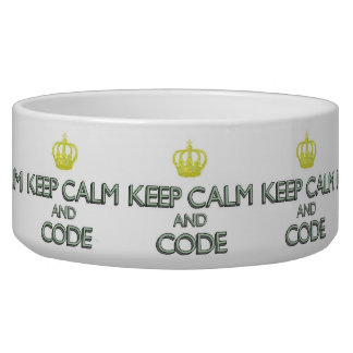 Keep Calm and Code Bowl