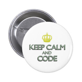 Keep Calm and Code Button
