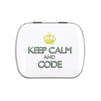 Keep Calm and Code Candy Tins