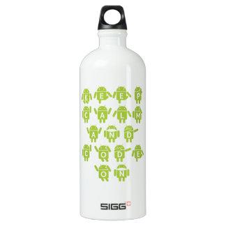 Keep Calm And Code On Software Developer Bugdroid SIGG Traveler 1.0L Water Bottle