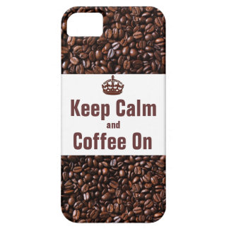 Keep Calm and Coffee On iPhone5 Case iPhone 5 Cases
