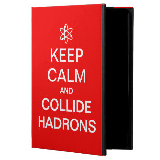 Keep Calm and Collide Hadrons Science Geek Powis iPad Air 2 Case