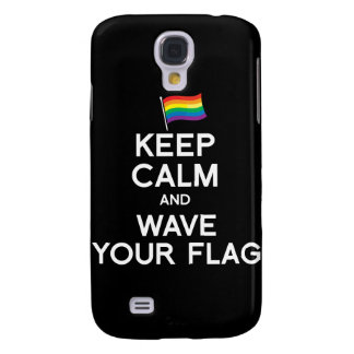 KEEP CALM AND COME OUT GALAXY S4 COVERS