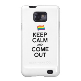 KEEP CALM AND COME OUT GALAXY SII COVER