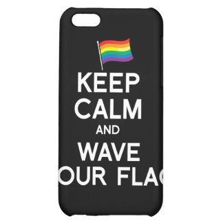 KEEP CALM AND COME OUT iPhone 5C CASE
