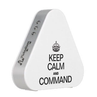 KEEP CALM AND COMMAND BLUETOOTH SPEAKER