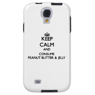 Keep calm and consume Peanut Butter & Jelly