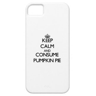 Keep calm and consume Pumpkin Pie iPhone 5 Cases