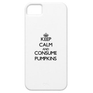 Keep calm and consume Pumpkins iPhone 5 Cover