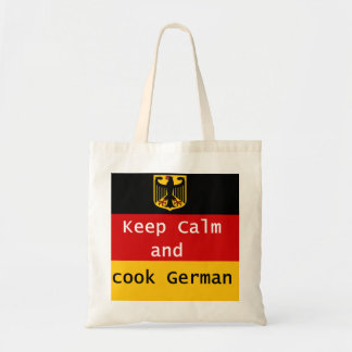 Keep Calm and Cook German Tote