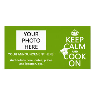 Keep Calm and Cook On Card