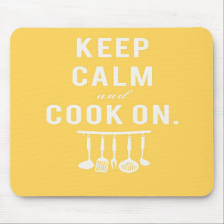 Keep Calm and Cook On Mousepad