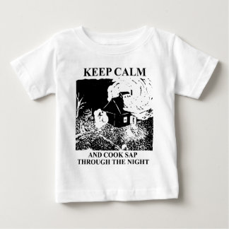 Keep calm and cook sap through the night baby T-Shirt