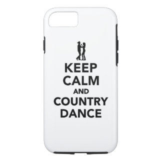 Keep calm and country dance iPhone 8/7 case