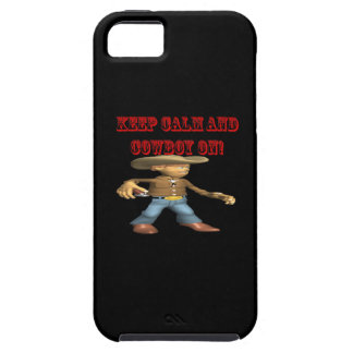 Keep Calm And Cowboy On 2 iPhone 5 Cover