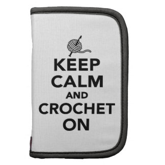 Keep calm and Crochet on Planners