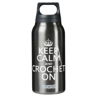 Keep Calm and Crochet On SIGG Thermo 0.3L Insulated Bottle