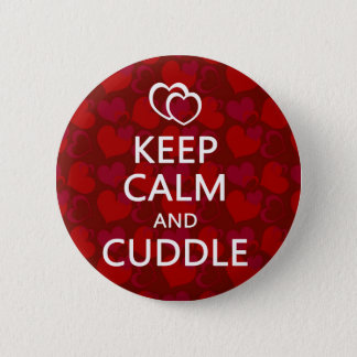 Keep Calm and Cuddle Button