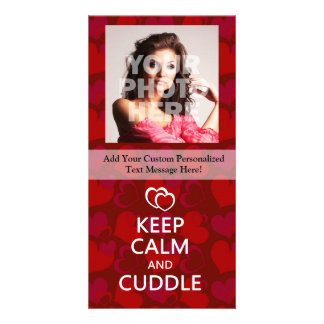 Keep Calm and Cuddle Card