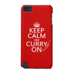 Keep Calm and Curry On (customizable) iPod Touch 5G Case