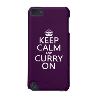 Keep Calm and Curry On iPod Touch 5G Cover