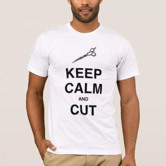 KEEP CALM AND CUT! T-Shirt