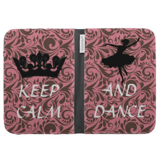 keep calm and dance ballerina kindle covers
