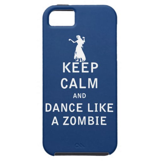 Keep Calm and Dance Like a Zombie iPhone 5 Covers