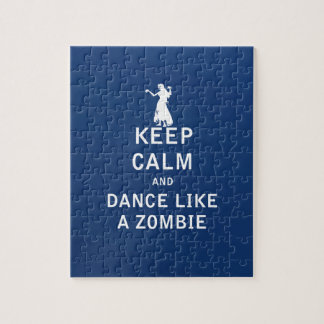 Keep Calm and Dance Like a Zombie Puzzles