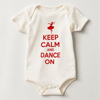 Keep Calm and Dance On Baby Creeper