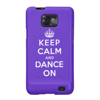 Keep Calm and Dance On Galaxy S2 Cover