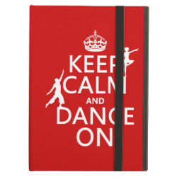 iPad Air Powis Case with Keep Calm and Dance On design