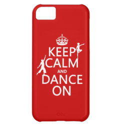 Case-Mate Barely There iPhone 5C Case with Keep Calm and Dance On design