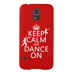 Case-Mate Barely There Samsung Galaxy S5 Case with Keep Calm and Dance On design