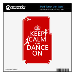iPod Classic (80/120/160GB) Skin with Keep Calm and Dance On design
