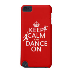 Case-Mate Barely There 5th Generation iPod Touch Case with Keep Calm and Dance On design