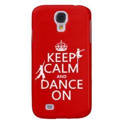 Case-Mate Barely There Samsung Galaxy S4 Case with Keep Calm and Dance On design