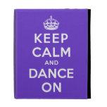 Keep Calm and Dance On iPad Folio Covers