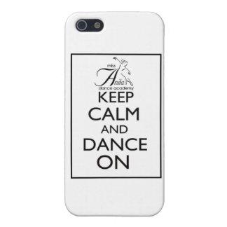 Keep Calm and Dance On Case For iPhone 5