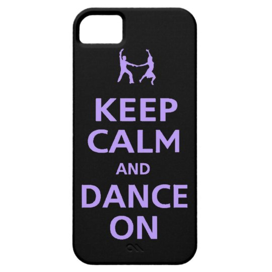 Keep Calm and dance on iphone case music dancing b