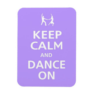 Keep Calm and dance on iphone case music dancing b Magnet